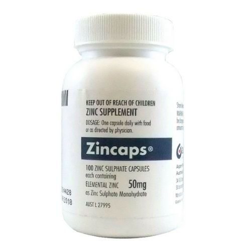Zincaps Tablets 50 mg - Pack 100