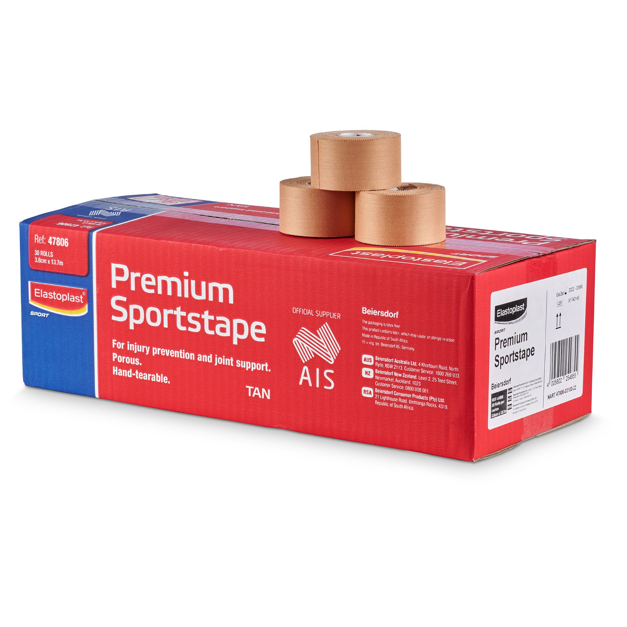 Elastoplast Premium Sport Tape Rigid 38mm