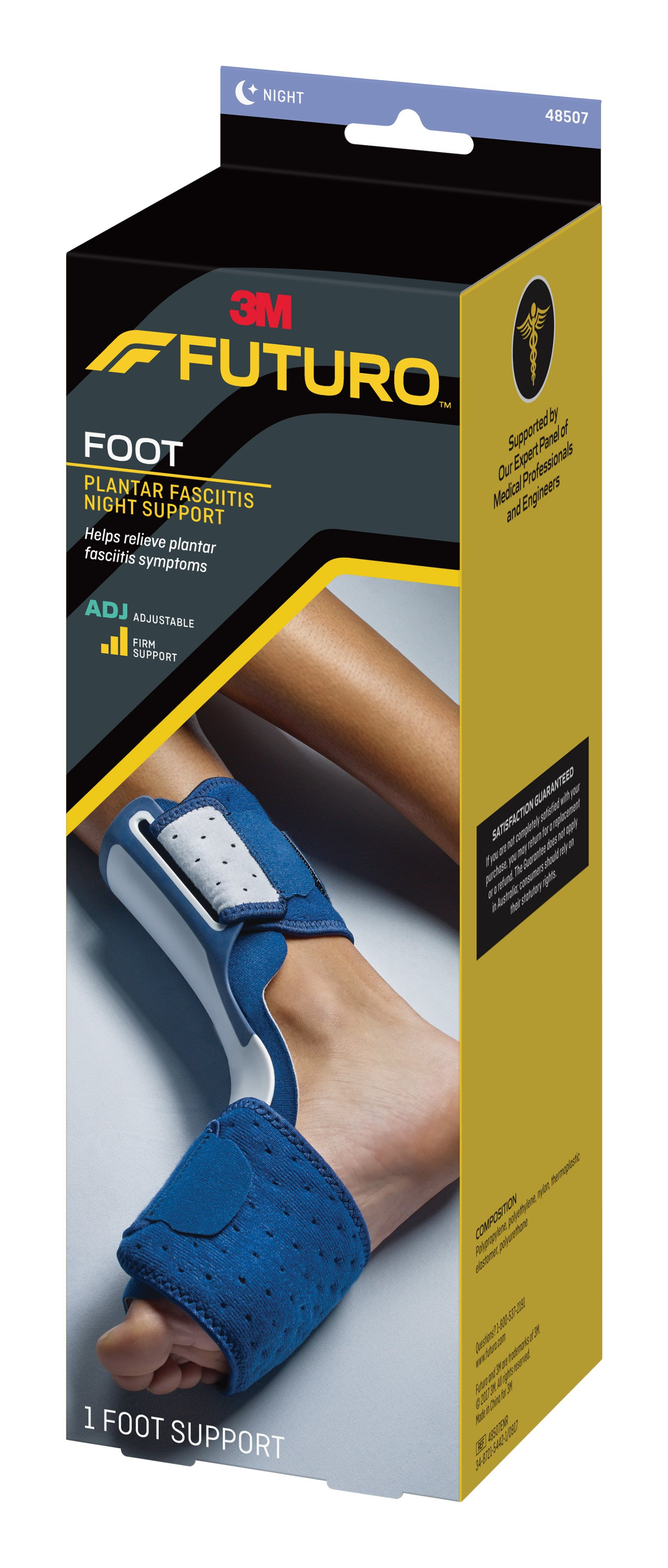 Futuro Plantar Fasciitis Night Support Adjustable