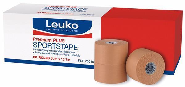 LEUKO SPORTSTAPE PREMIUM PLUS - RIGID 5cm x 13.7m