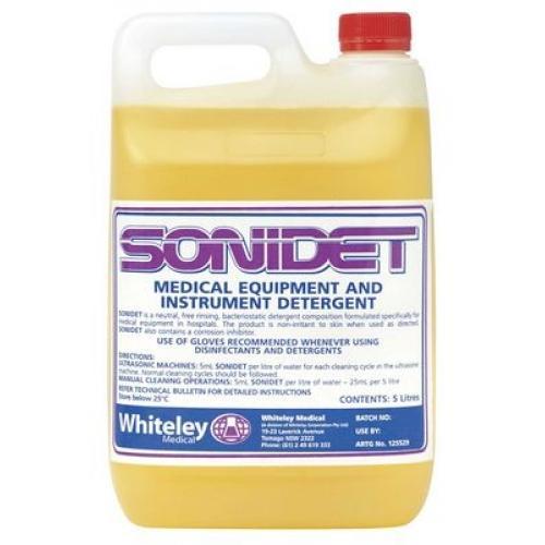 Sonidet Medical Equipment And Instrument Detergent 5L