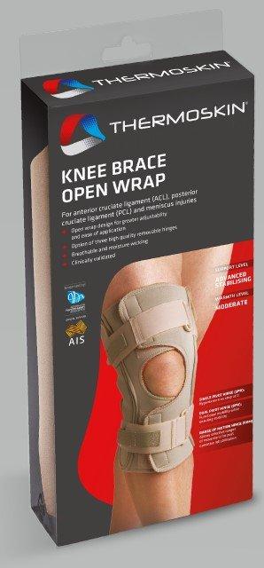 Thermoskin Knee Brace Open Wrap Dual Pivot
