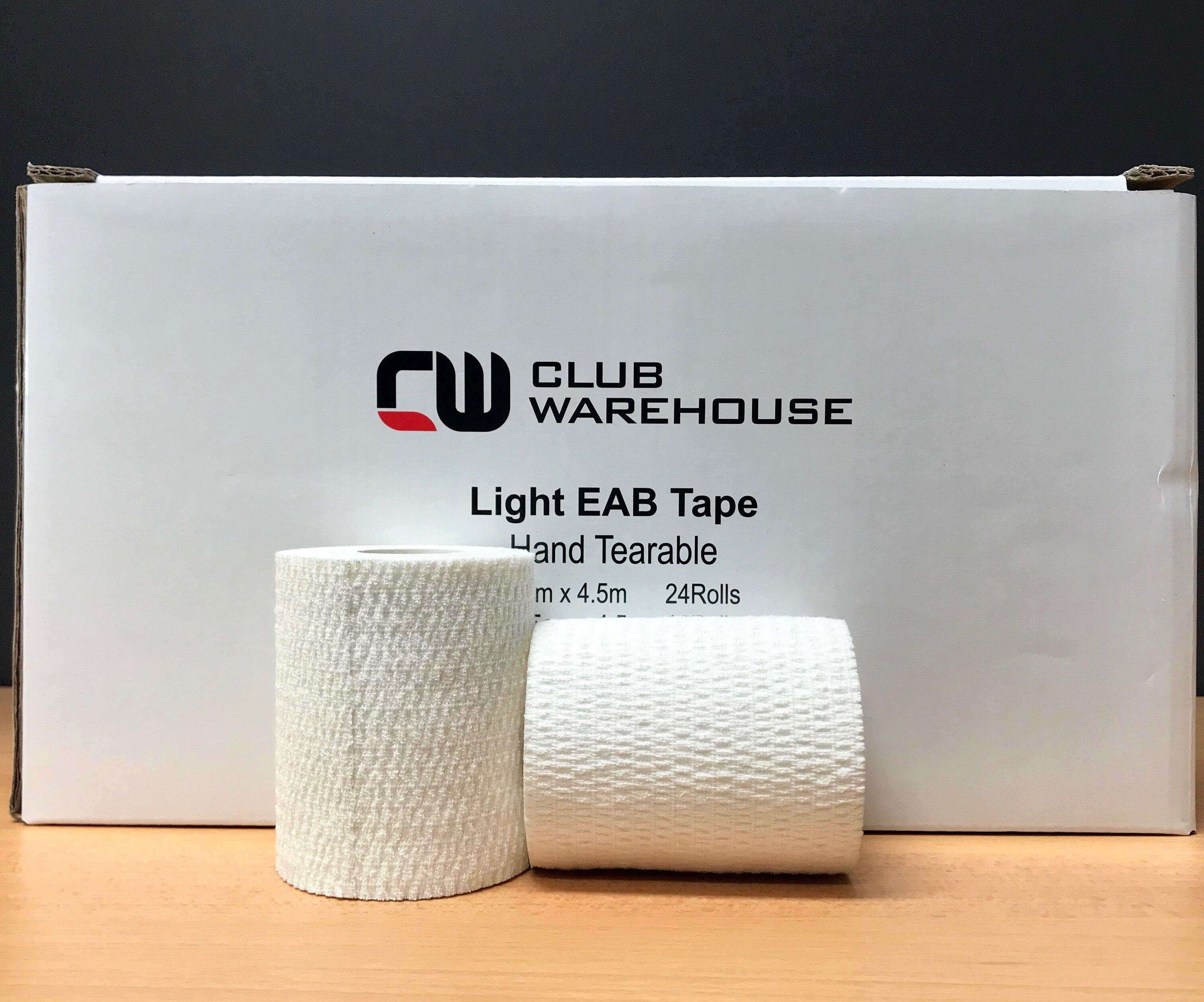 Club Pro Hand Tearable White 7.5cm X 4.5m