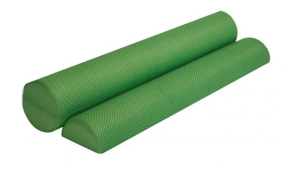 FOAM ROLLER ROUND LARGE GREEN 14.5 x 91cm
