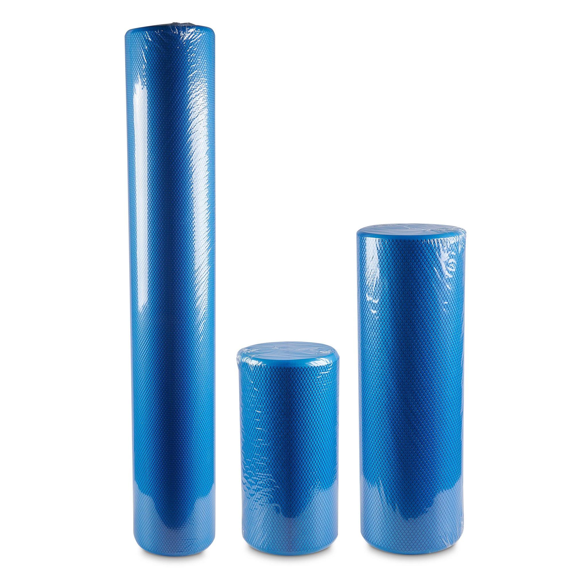 Club Warehouse Round Foam Rollers Small 15cm diameter - 30cm Long
