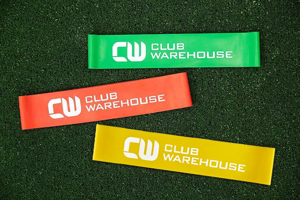 CW MINIBAND LOOP PACK 1 of each pink/green/red