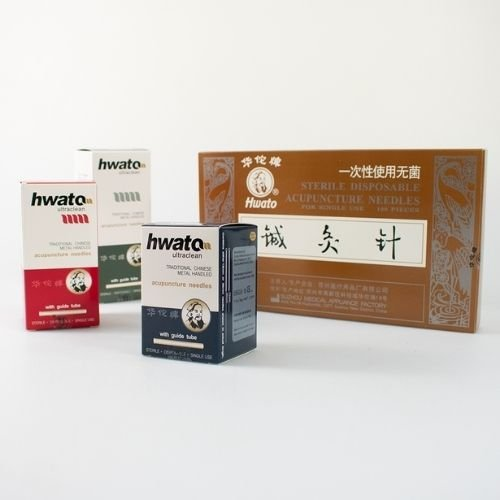 HWATO ACUPUNCTURE NEEDLES 100s (With guide tube)