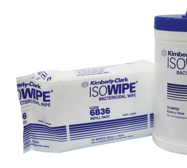 Isowipe Refill - Pack 75