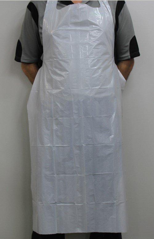 Disposable Plastic Apron (Waterproof) - 71cm x 132cm