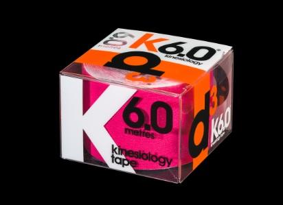 D3 KINESIO TAPE 50MM X 6M Pink