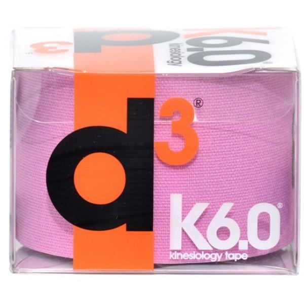 D3 KINESIO TAPE 50MM X 6M Purple
