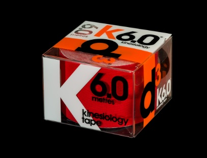 D3 Kinesio Tape Red 50mm X 6m