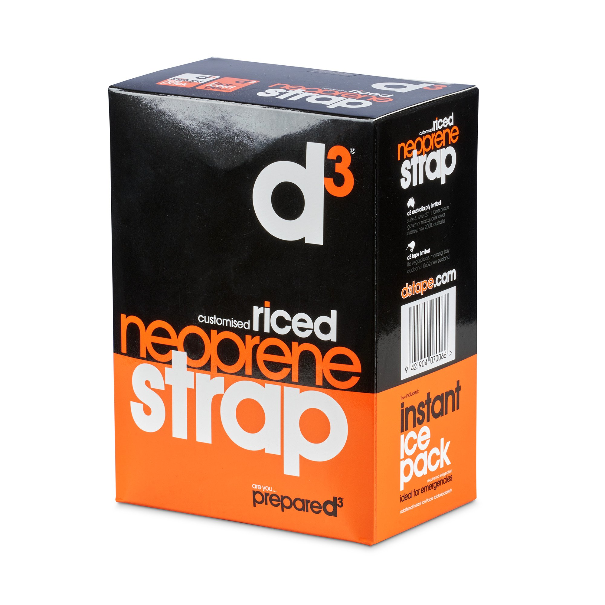 D3 RICED NEOPRENE STRAP(with 2 instant, 1 hot/cold)