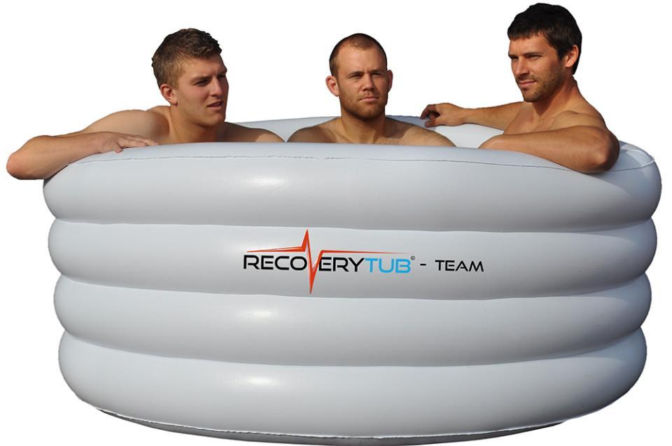 Recoverytub Team Inflatable Ice Bath Cold Amp Hot Therapy