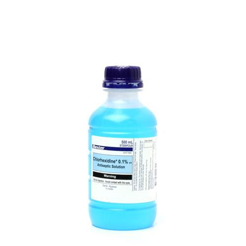 Chlorhex 0.1% Aqueous Blue 100ml