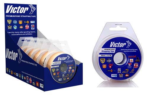 Victor RIGID TAPE 38mm- RETAIL PACK of 6