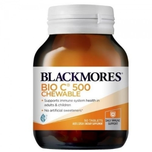 Blackmores Bm Bio C Chews 500mg - Pack 50 - Click for more info