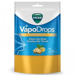 Vicks Vapodrops Butter Menthol - Click for more info