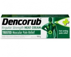Dencorub Regular Strength Heat Cream 100g