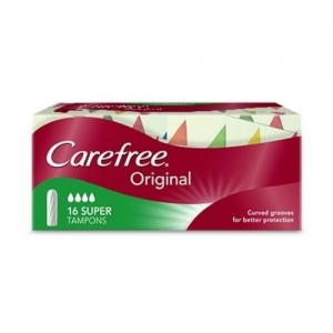 CareFree SUPER TAMPONS - Click for more info