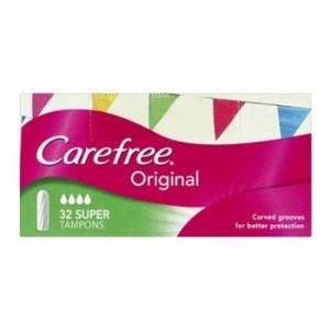 Carefree Super Tampons - Pack 32
