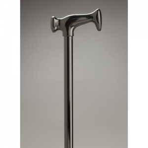 WALKING STICK ALUMIN DEVON HANDLE - Click for more info