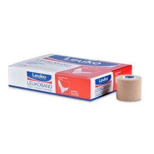 LEUKOBAND ELASTIC ADHESIVE BANDAGE - BEIGE - 50mm - Click for more info