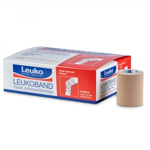 Leukoband Elastic Adhesive Bandage Beige 75mm - Click for more info