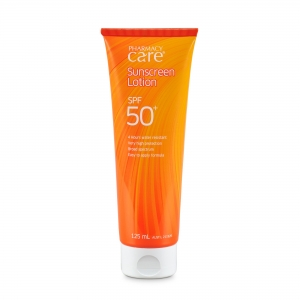 Sunscreen Lotion Pharmacy Care 50+