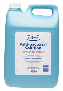 Miltons Anti-Bacterial Solution New Formula 2% 5Lt