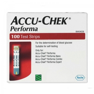 Accu Chek Performa Strips - Pack 100 - Click for more info