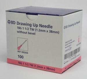Bd Draw/Up Needles - Box 100