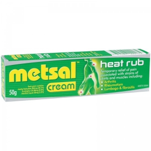 Metsal Heat Rub Cream