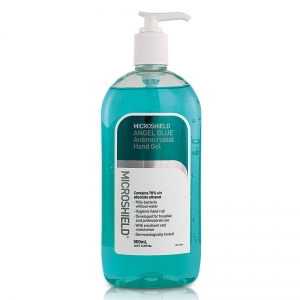 Microshield Angel Blue Microbial Hand Gel 500ml - Click for more info