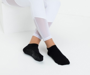 Pilates Socks Classic Black - Click for more info