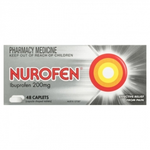 NUROFEN TABLETS 200mg 48s - Click for more info