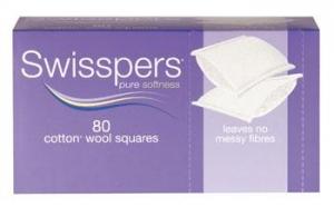 Swisspers Cotton Squares - Box 80