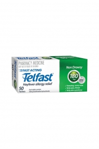 Telfast Tablets 180mg - Pack 60