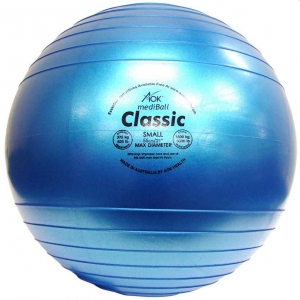 AOK CLASSIC METALLIC FIT BALL 55CM PURPLE - Click for more info