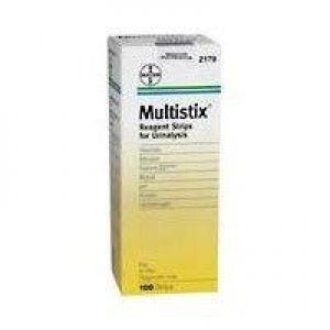 Multistix Strips - Pack 100 - Click for more info