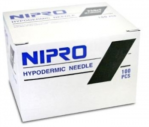 Nipro Needles 27g X 1 1/4 32mm - Box 100