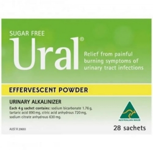 URAL SACHETS- 4g  Box 28 - Click for more info