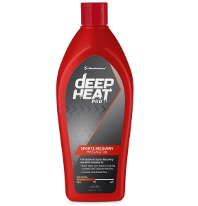 DEEP HEAT MASSAGE OIL 400ml - Click for more info
