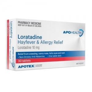 ApoHealth Loratadine Tablets -Pack 30
