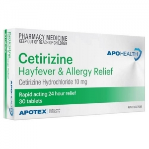 ApoHealth Certrizine Tablets - Pack 30