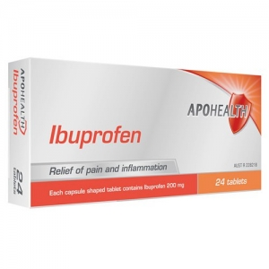 Aph Ibuprofen 200mg Tablets - Pack 24 - Click for more info
