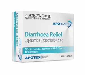 Aph Diarrhoea Relief Caplets - Pack 10 - Click for more info
