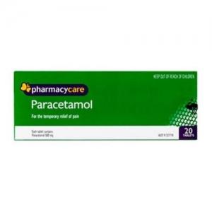 Pharmacy Care Paracetamol Tablets - Pack 20