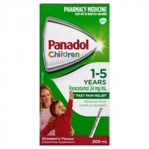 Childrens Panadol Elixir  1-5 Years 200ml - Click for more info