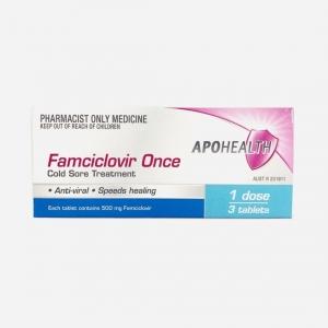 Apo Famciclovir 500mg - Pack 3
